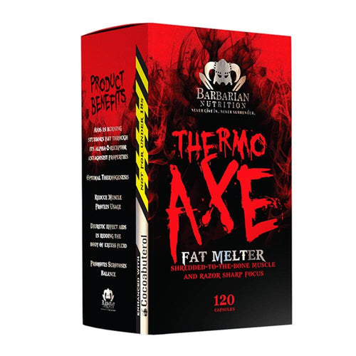 Thermo Axe [120 Caps] - NEW Stimulant Based Fat Burner Barbarian Nutrition