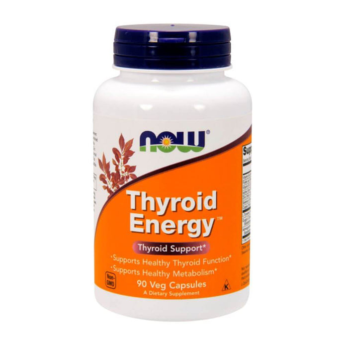 Thyroid Energy [90 Caps] General Health NOW Foods