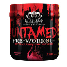 Load image into Gallery viewer, Untamed [220g] Stimulant Based Pre-Workout Barbarian Nutrition Cherry Cola