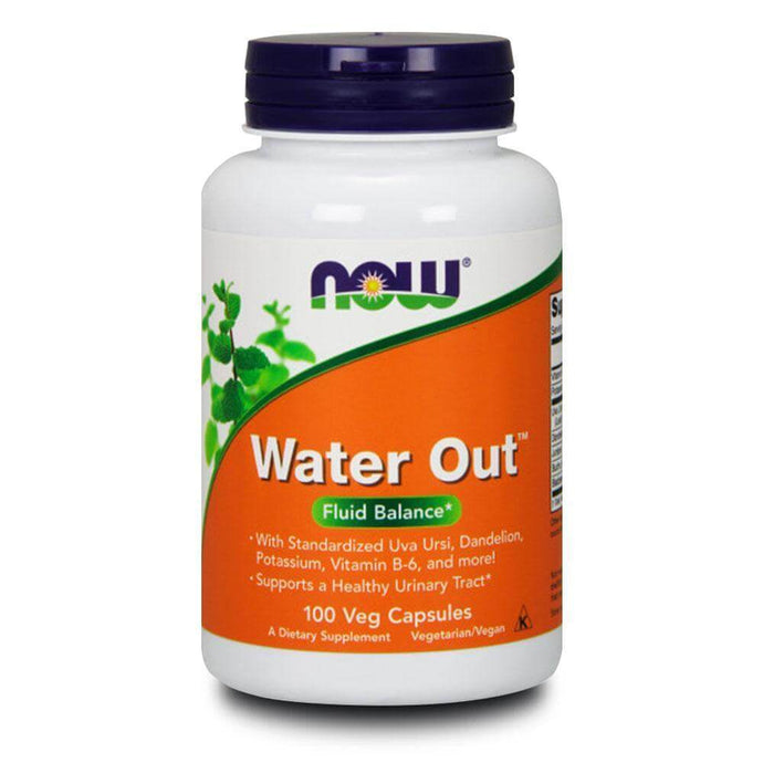 Water Out [100 Caps] Diuretic NOW Foods