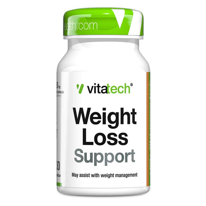 Weight Loss Support [30 Tabs] Stimulant Free Fat Burner Vitatech