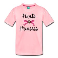 "Load image into Gallery viewer, ""Libby"" Pirate Princess Soft Toddler T-Shirt - pink"