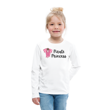 Load image into Gallery viewer, Kids' Premium Long Sleeve T-Shirt - white