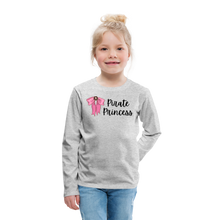 Load image into Gallery viewer, Kids' Premium Long Sleeve T-Shirt - heather gray