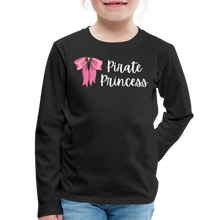 Load image into Gallery viewer, FINAL VERSION Kids' Premium Long Sleeve T-Shirt - black