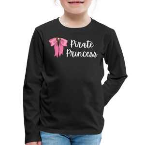 FINAL VERSION Kids' Premium Long Sleeve T-Shirt - black