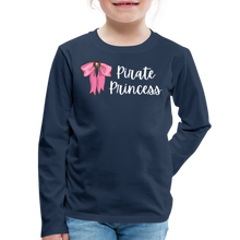 Load image into Gallery viewer, FINAL VERSION Kids' Premium Long Sleeve T-Shirt - navy