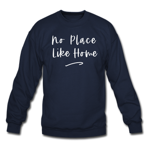 No Place Like Home Cozy Sweatshirt - navy
