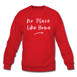No Place Like Home Cozy Sweatshirt - red