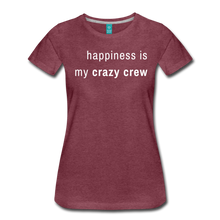 Load image into Gallery viewer, Women's Premium T-Shirt - heather burgundy