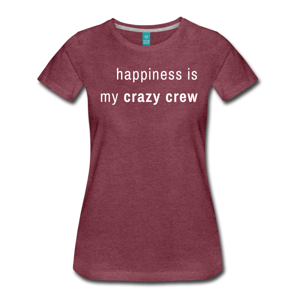 Women's Premium T-Shirt - heather burgundy