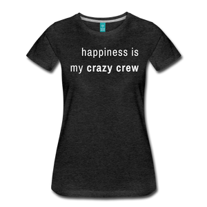 Women's Premium T-Shirt - charcoal gray