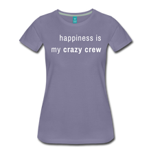 Load image into Gallery viewer, Women's Premium T-Shirt - washed violet