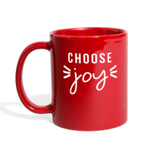 Load image into Gallery viewer, Choose Joy Red Coffee Mug - red