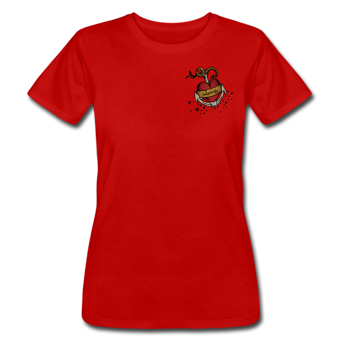 You Had Me At Arrr! Woman's Pirate T-Shirt Short Sleeve - red