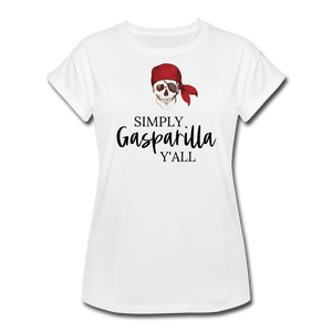 Gasparilla Women's Relaxed Fit T-Shirt - white