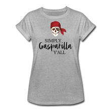 Load image into Gallery viewer, Gasparilla Women's Relaxed Fit T-Shirt - heather gray