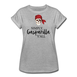 Gasparilla Women's Relaxed Fit T-Shirt - heather gray