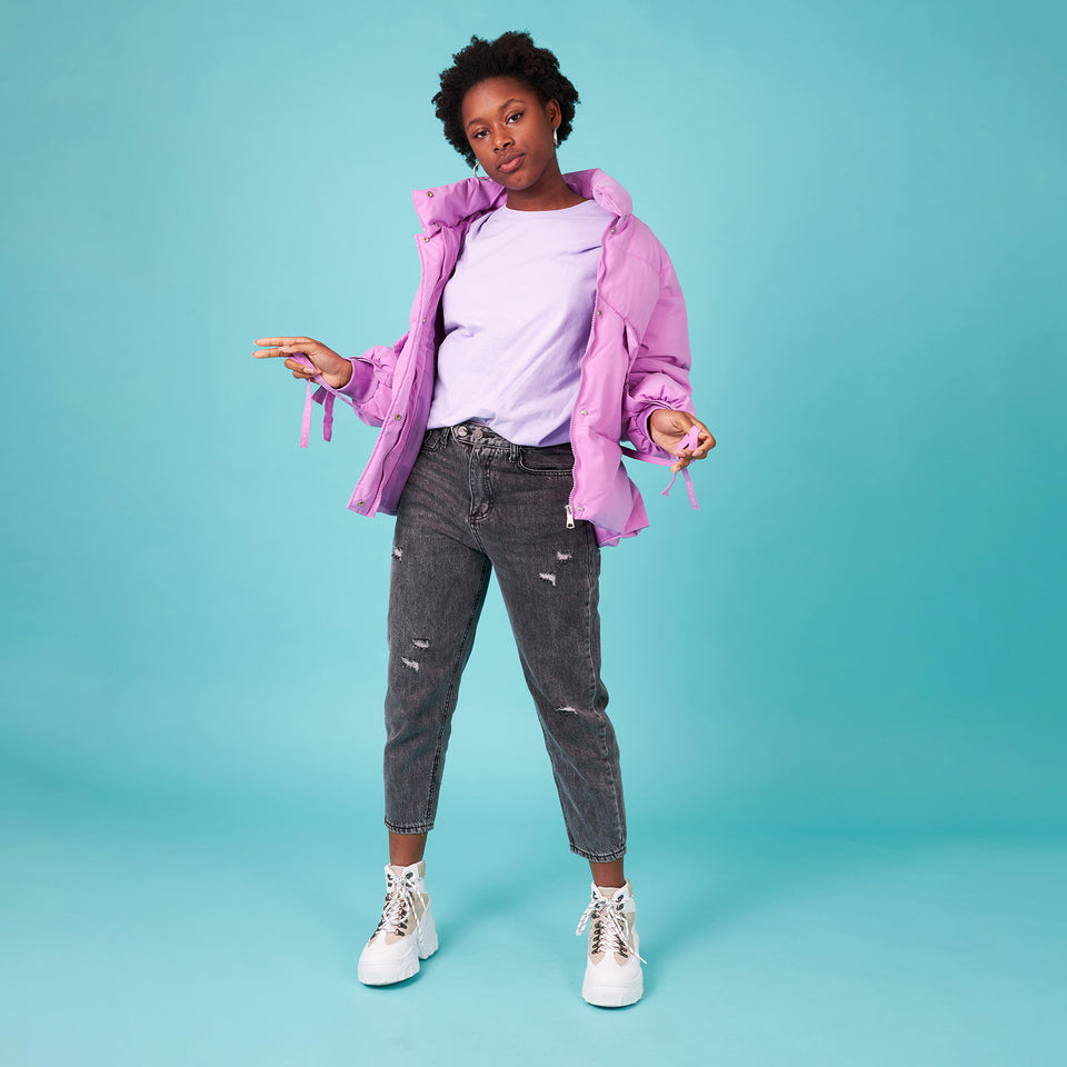 Puffer Jacket Lilac