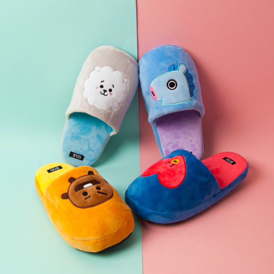 BTS Fluffy Slipper