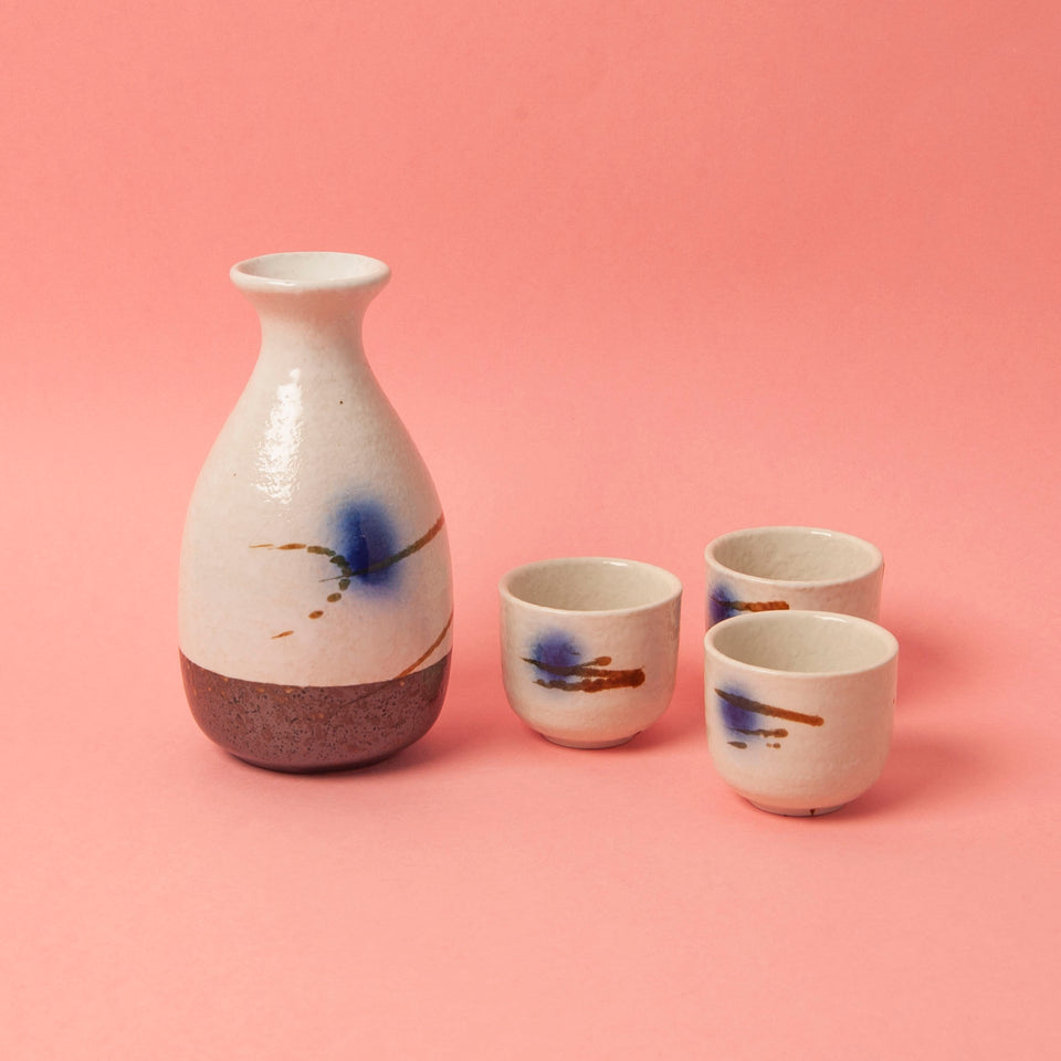 Japanese Ogawa Sake Set