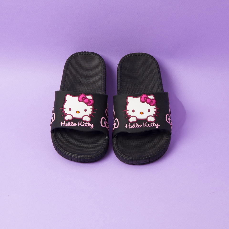 Hello Kitty Slipper Black