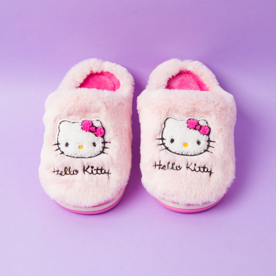 Hello Kitty Fuzzy Slipper