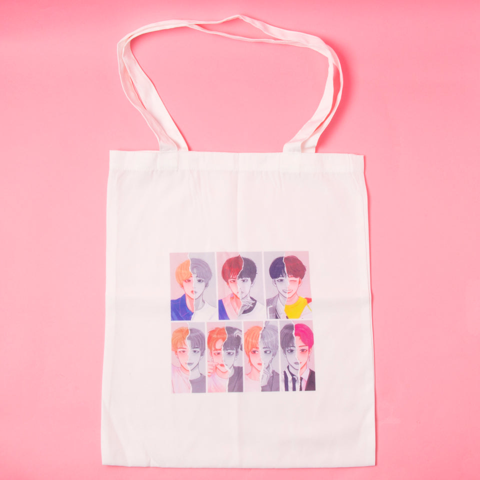 BTS Icons Tote Bag