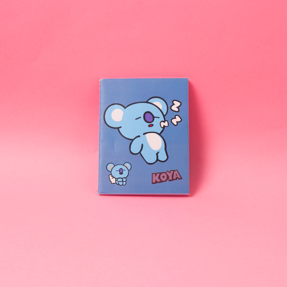 BT21 Mini Notebook