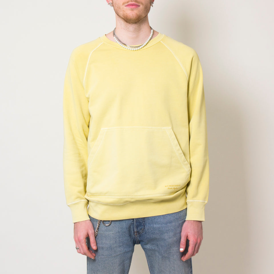 Burberry Yellow Pastel Sweatshirt