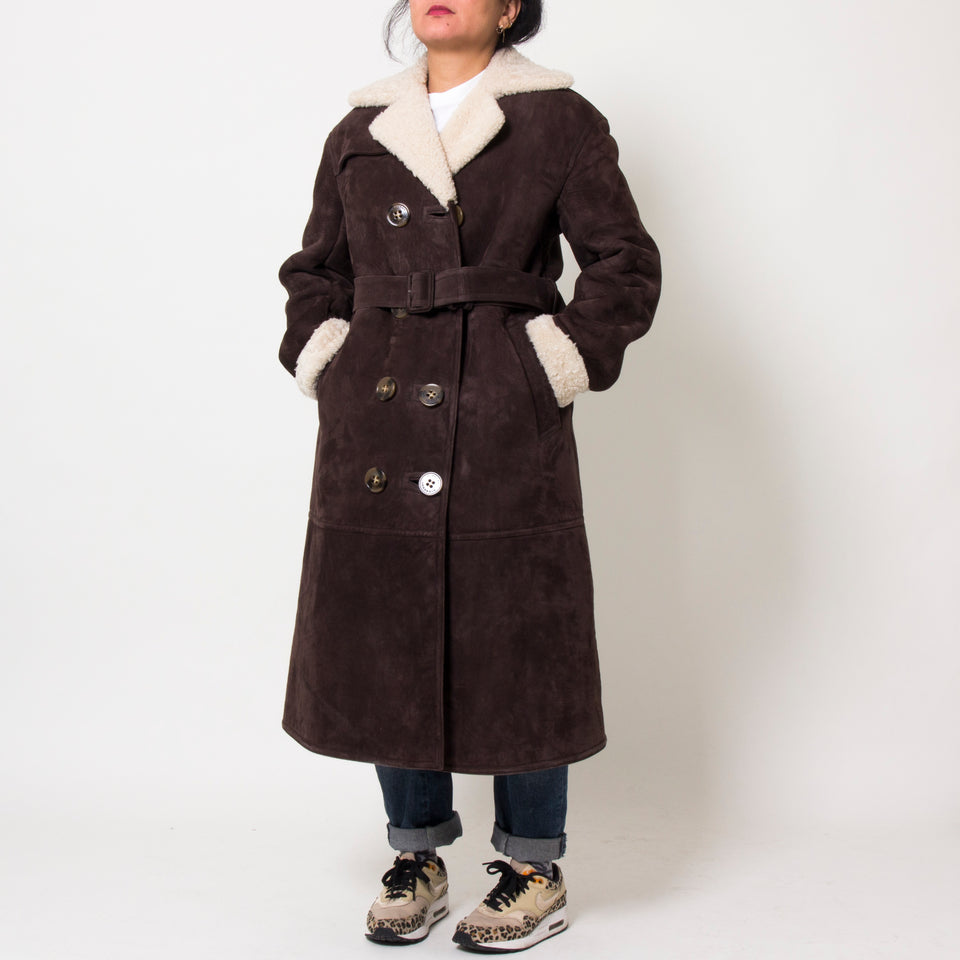 Burberry Lamb Coat