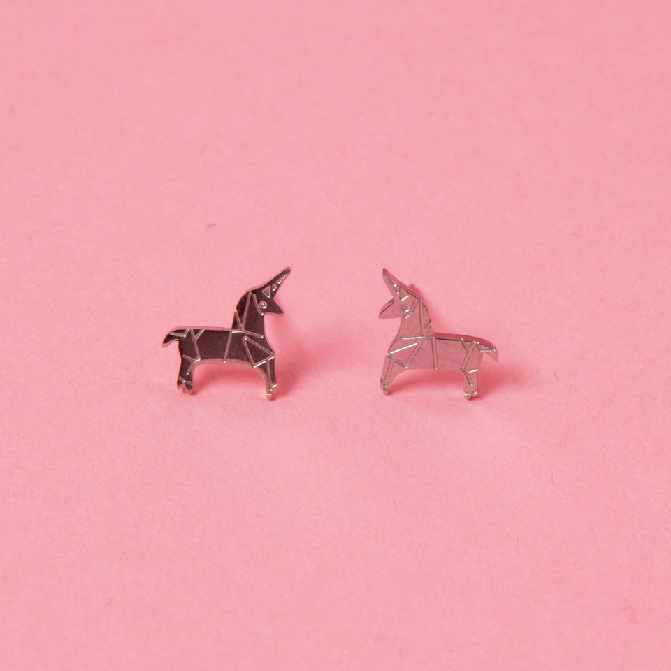 Earrings Unicorn