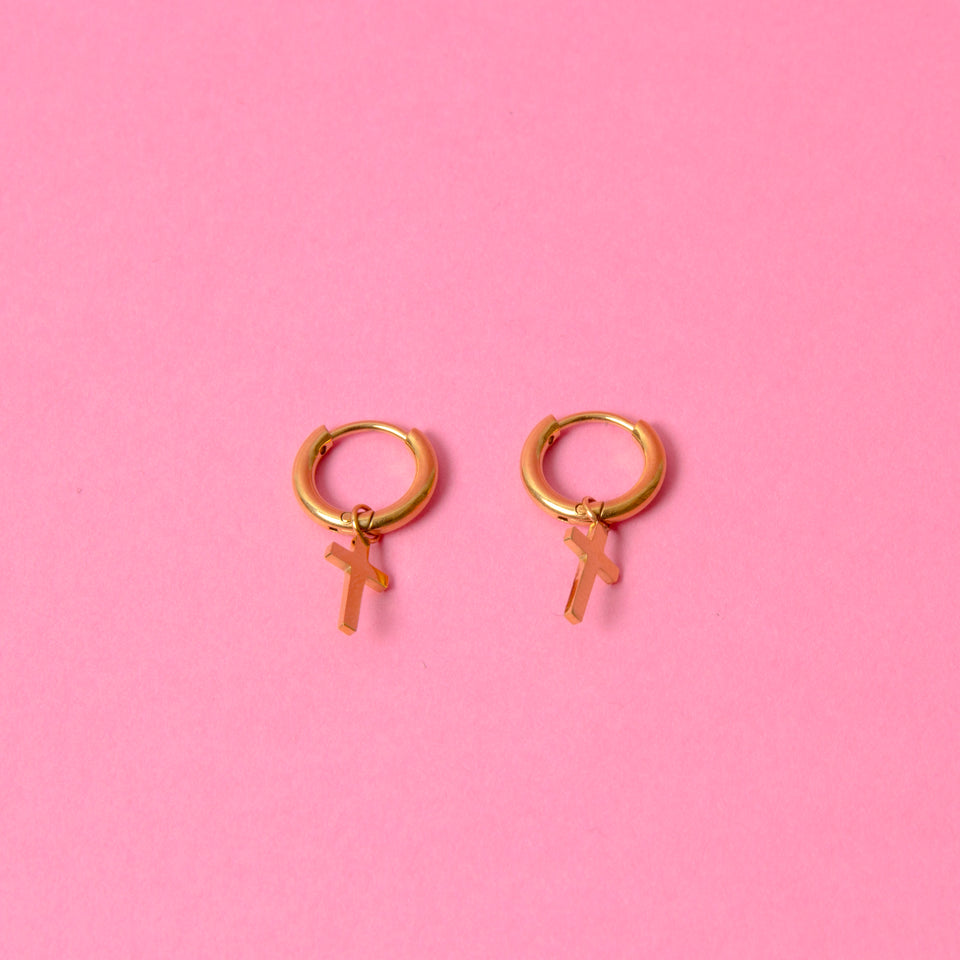 Earrings Faith Gold