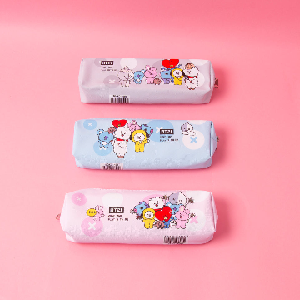 BT21 Soft Pencil Case