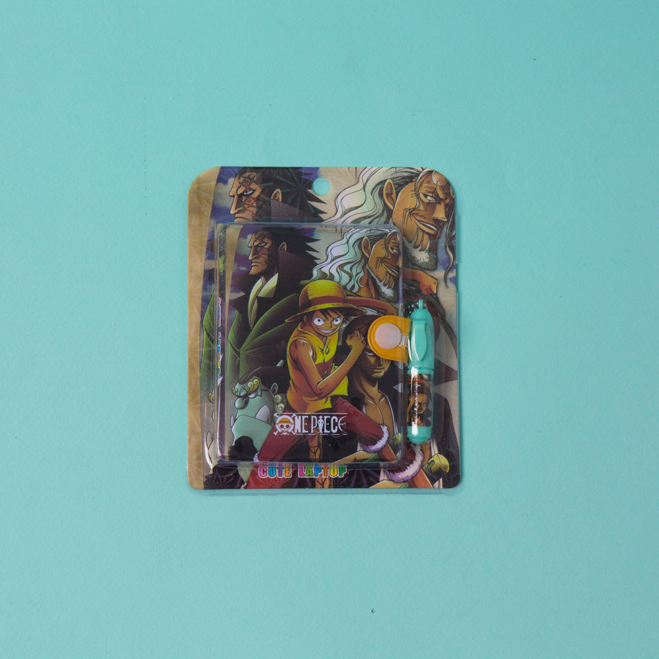 One Piece Mini Notebook