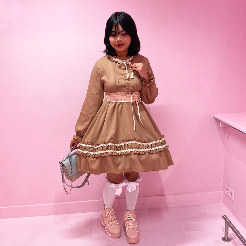 Lolita YueYan Brown Dress