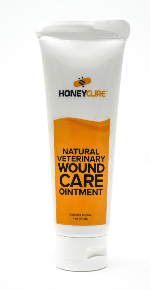 HoneyCure Natural Wound Care - Fido's Pawpose