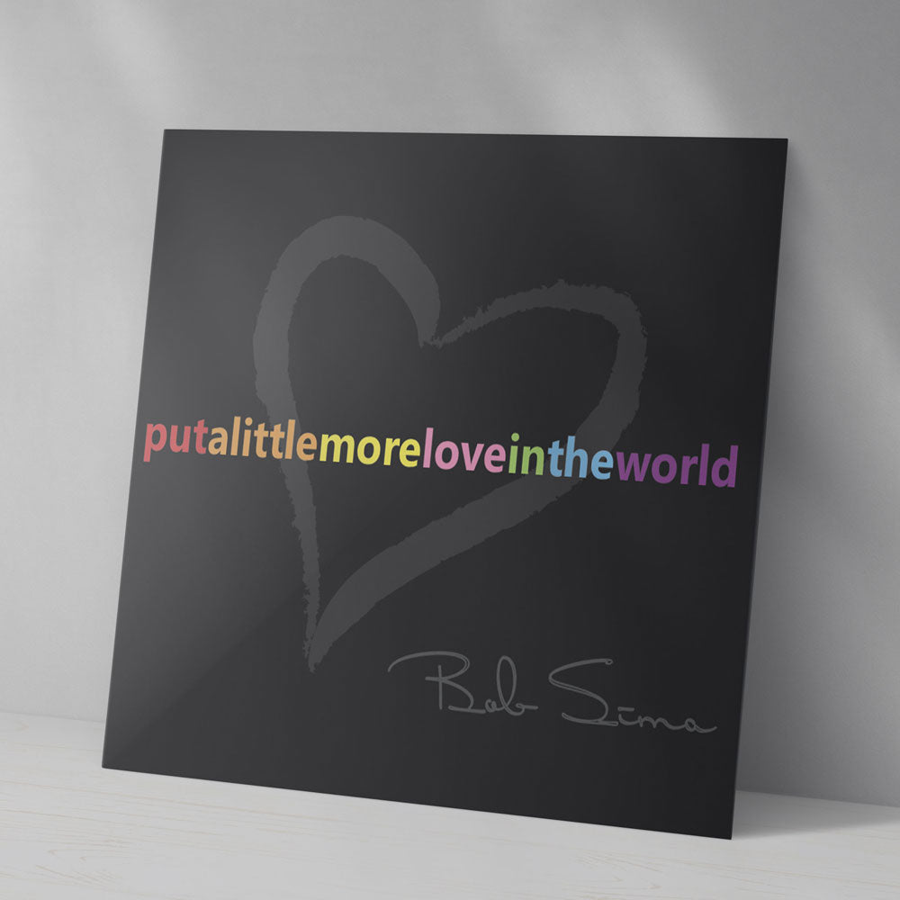 putalittlemoreloveintheworld (Hard Copy)