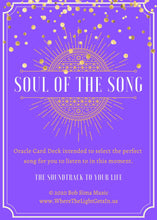 Load image into Gallery viewer, Soul of The Song Oracle Card Deck