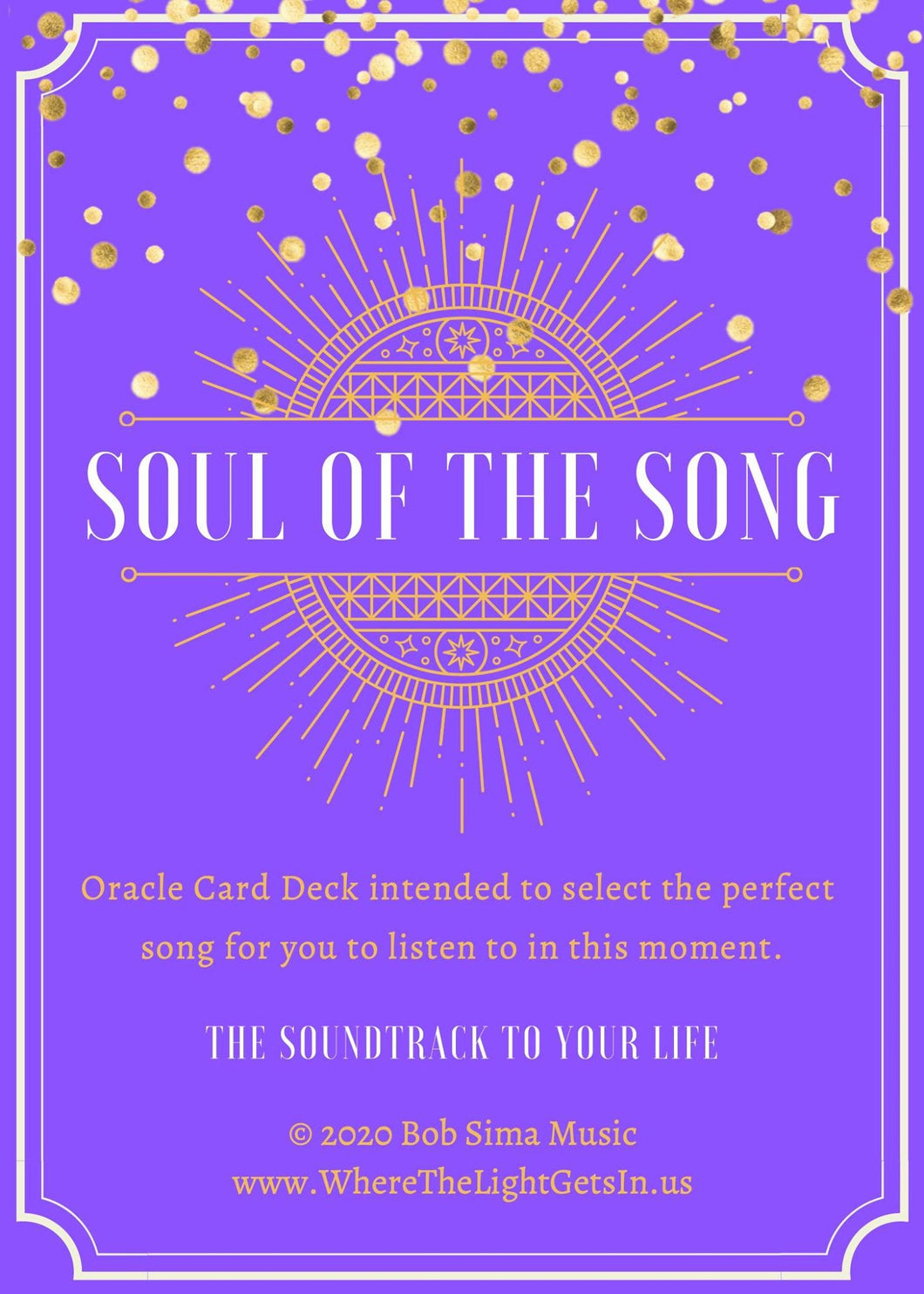 Soul of The Song Oracle Card Deck