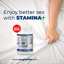 Load image into Gallery viewer, OMG Male Enhancement & Performance with STAMINA+