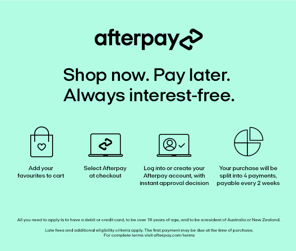 Asilio Afterpay | How Afterpay works