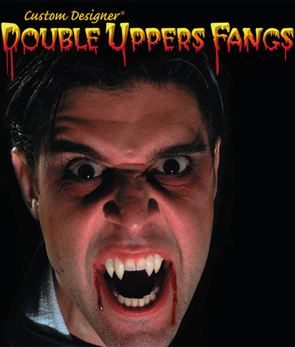 Double Upper Dracula Fangs