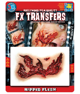 Ripped Flesh - 3D FX Tinsley Large Transfers