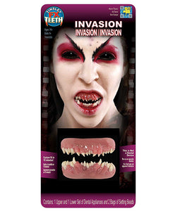 Invasion Teeth - 3D FX Tinsley Transfers