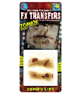 Zombie Lips - 3D FX Tinsley Small Transfers