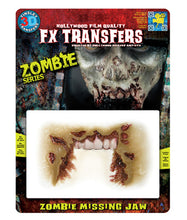 Load image into Gallery viewer, Zombie Missing Jaw - 3D FX Tinsley Transfers