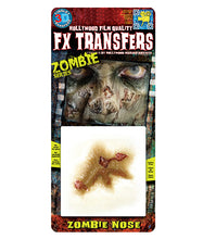 Load image into Gallery viewer, Zombie Nose - 3D FX Tinsley Small Transfers