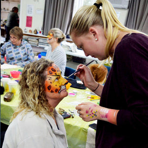 Face Painting Class - Mobile Artist - Auckland