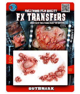 Outbreak - 3D FX Tinsley Large Transfers